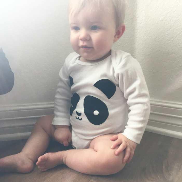 fashionable baby onesie