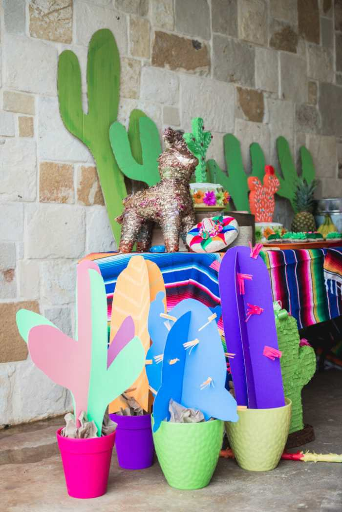 desert cactus themed birthday party