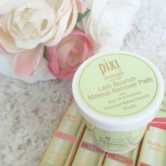 Pixi lash nourishing makeup remover pads