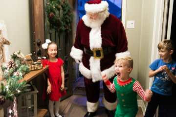 santa pictures christmas party