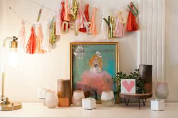 Valentine Decor with At Home