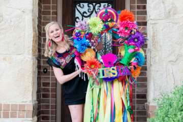 san antonio fiesta wreath