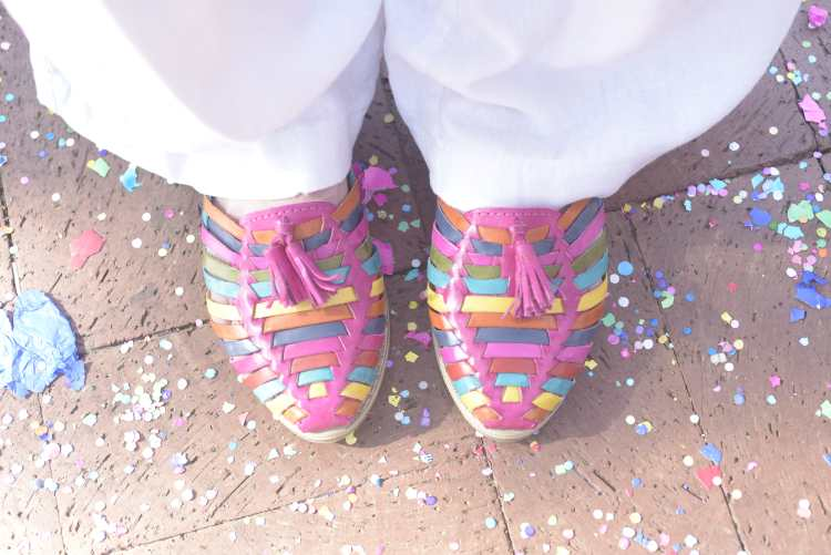 fiesta feet