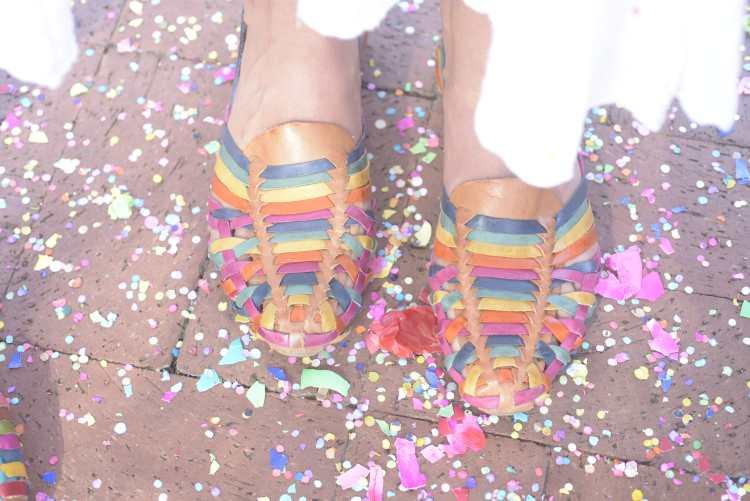 mexican huarache sandals