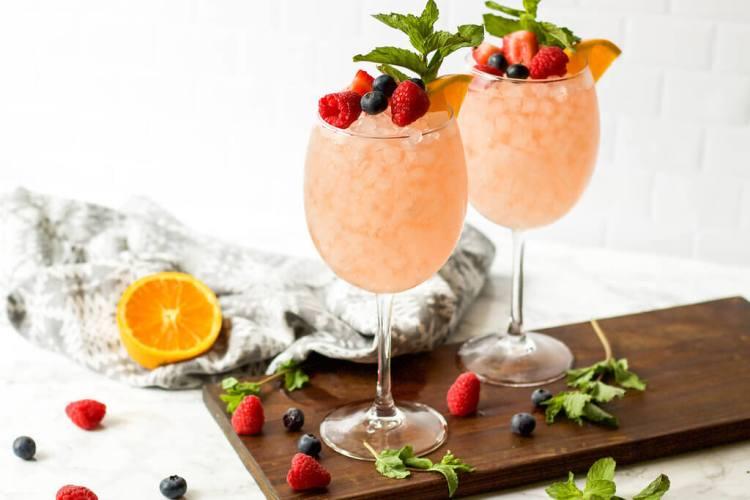 Rosé Cocktail Recipes