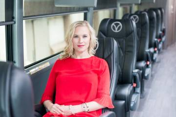 vonlane luxury bus