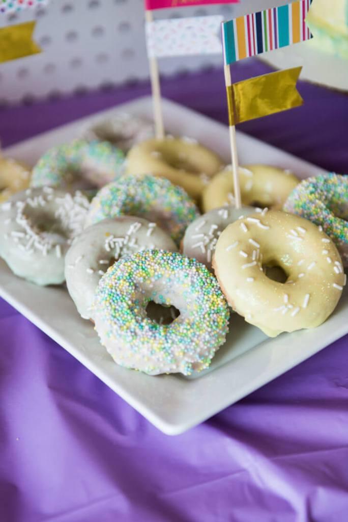 donut kids birthday