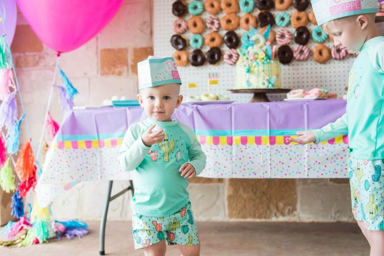 little boy birthday party
