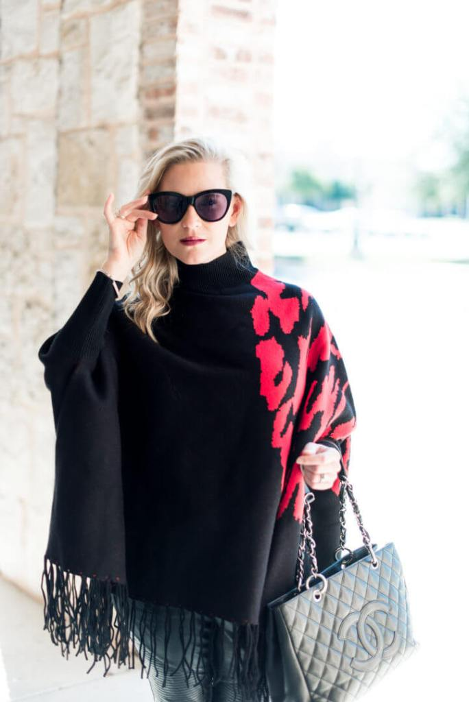 The Poncho Sweater