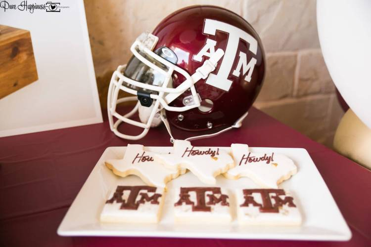 Texas A&M Aggie Birthday Party