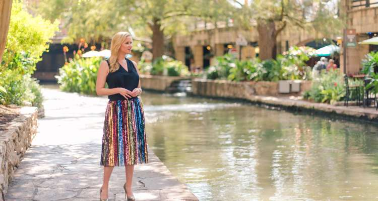 Queen of The San Antonio River Walk