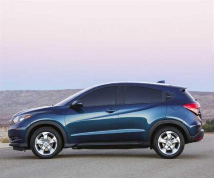 Presenting 2016 Honda HR-V in photos
