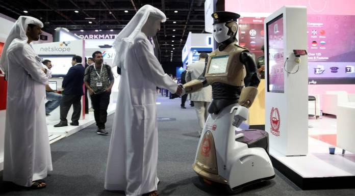 Robocop in Dubai, Robot in Dubai Police