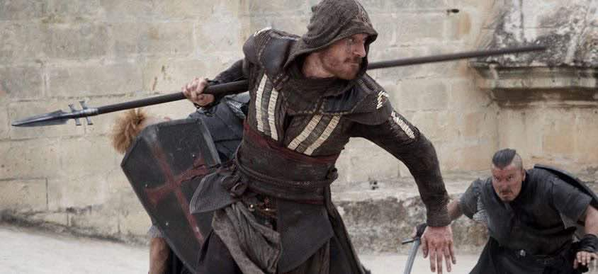 Image of Michael Fassbender from Assassin's Creed film
