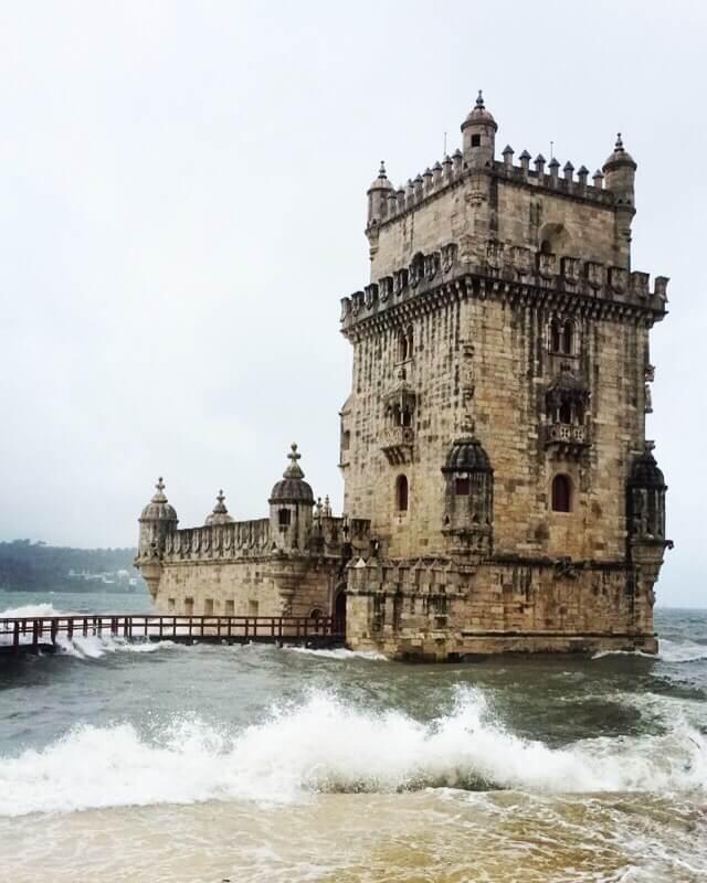 The Belém tower deluge