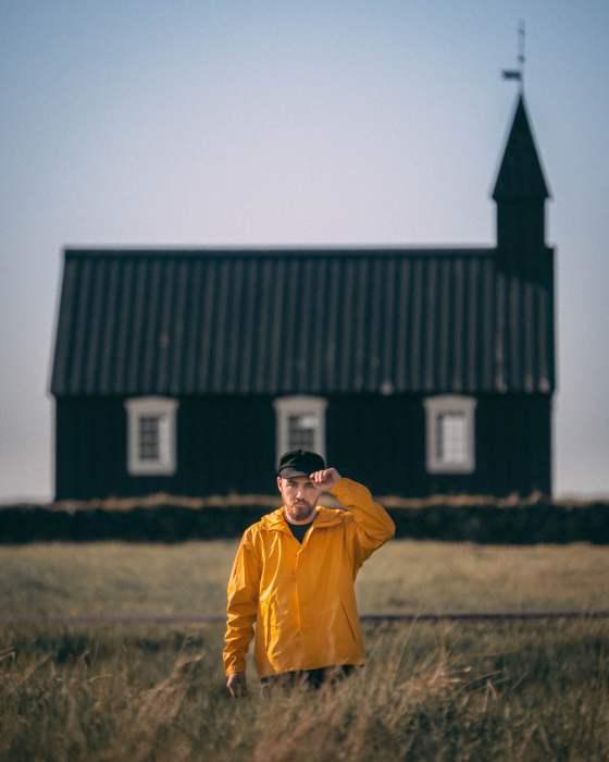 Black church Islande