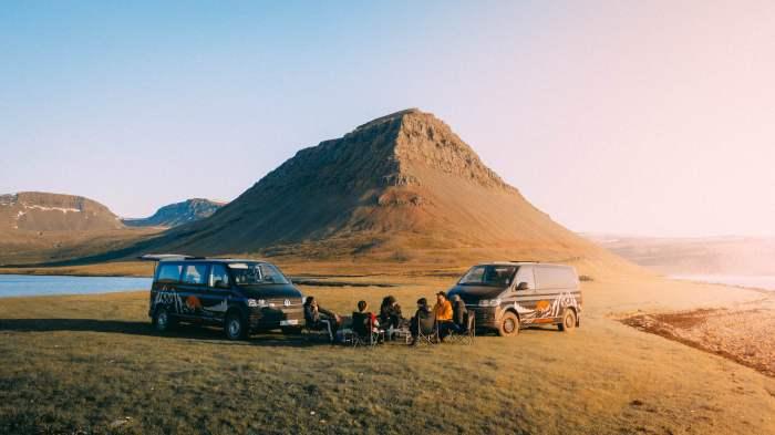 Fjords ouest chilling Islande