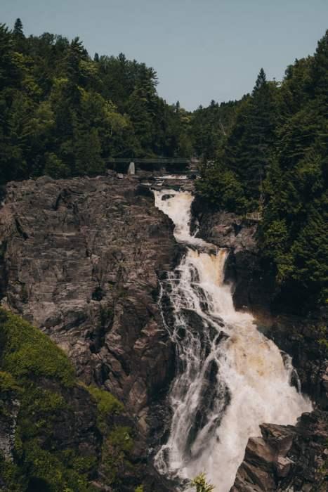 Chutes Canyon Ste-Anne Québec