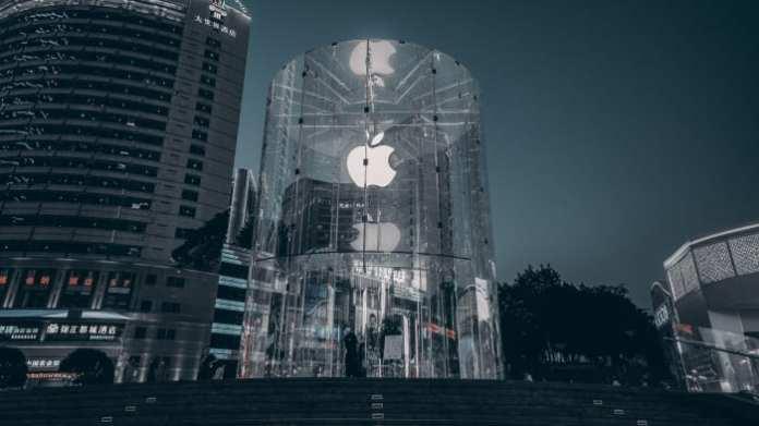 Figure 1: Apple store in Shanghai, China.