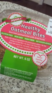 Alyssa's Healthy Oatmeal Bites - No Sugar