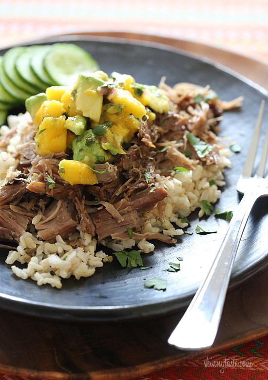 Skinnytaste-slow-cooker-jerk-pork-with-mango-salsa
