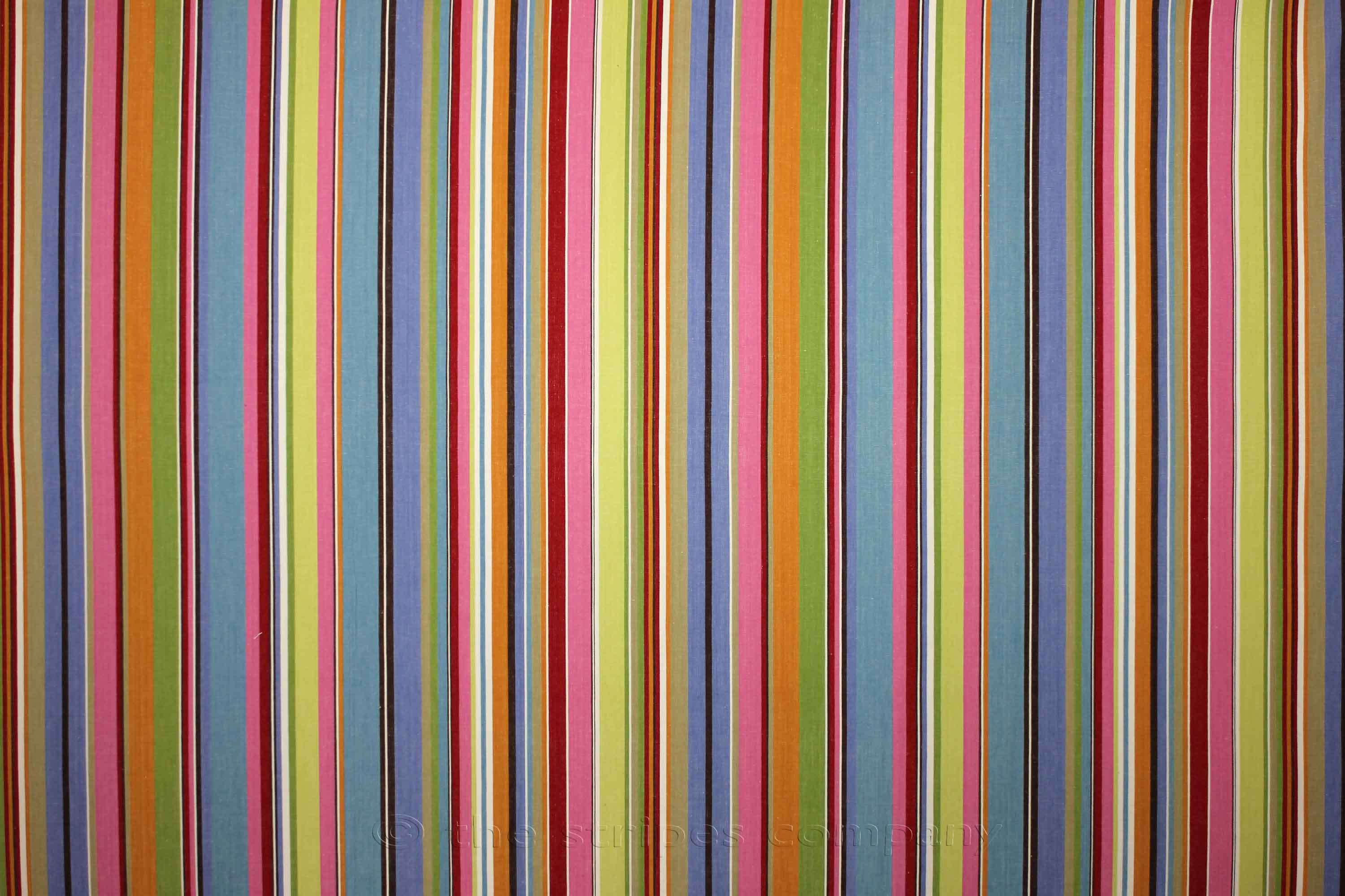 Blue And Pink Striped Fabric Baseball Stripe The