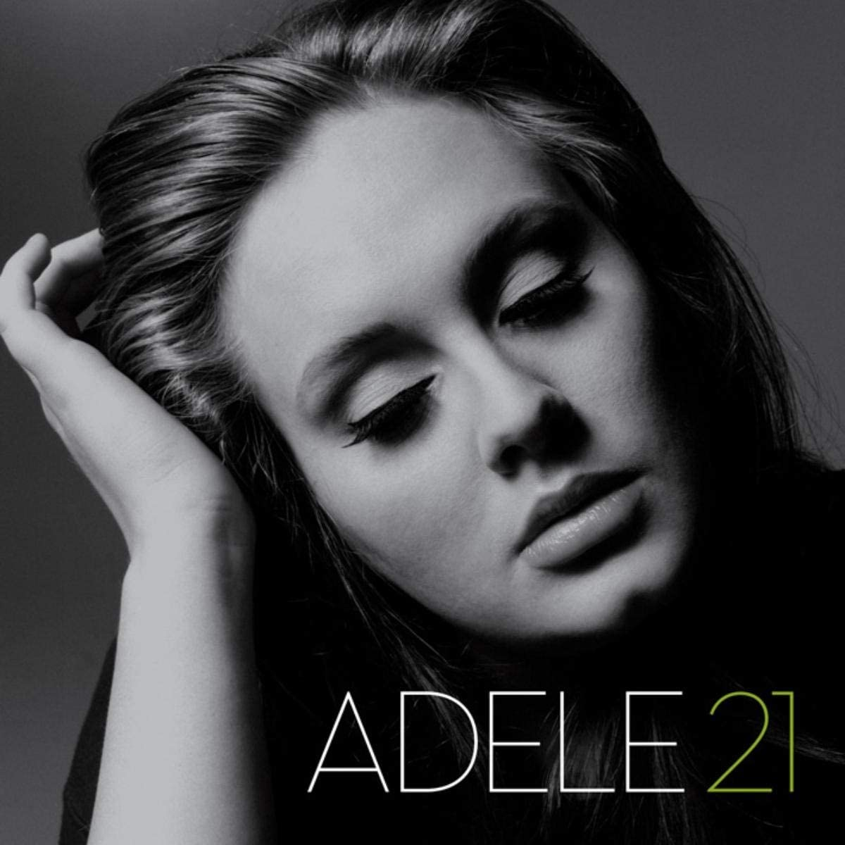 The cover of Adele's '21'.