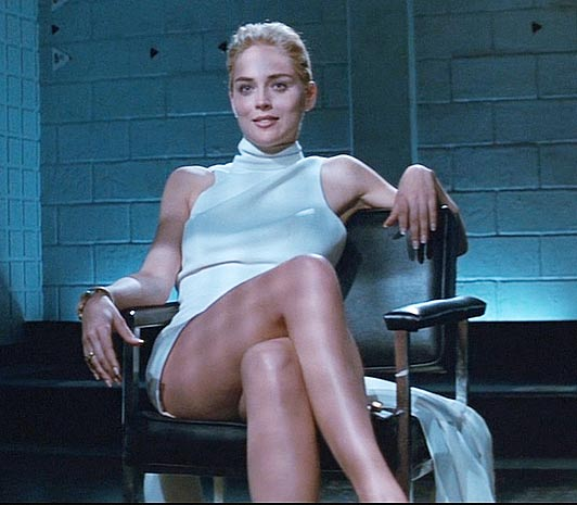 SHARON STONES VAGINA IS REMASTERED BY THE BFI · The