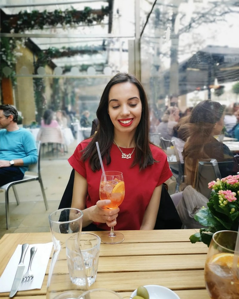 How to deal with your dark side - restaurant cocktails - The Style of Laura Jane