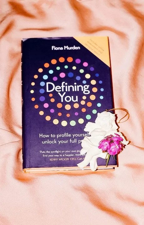 Book Defining You by Fiona Murden - best books to gift female friends 2020