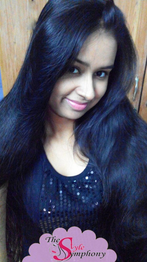 Maitreni Mishra long hair