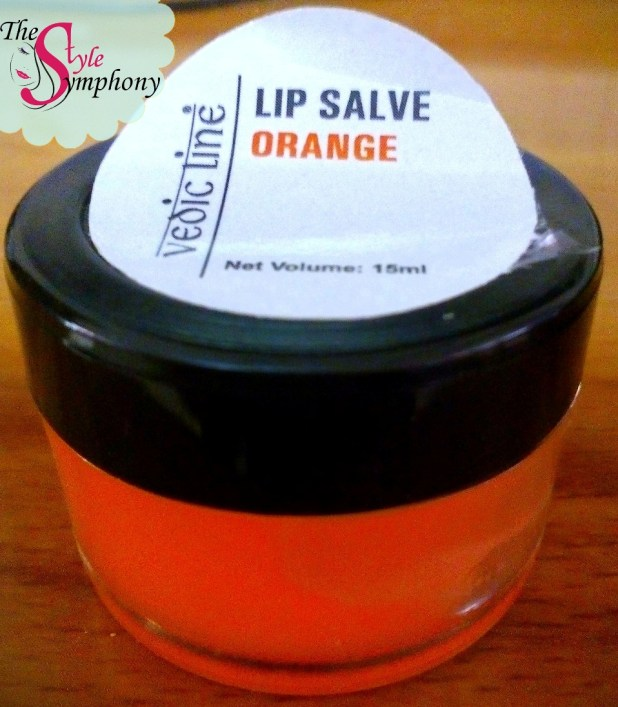 Vedic Line Lip Salve Orange