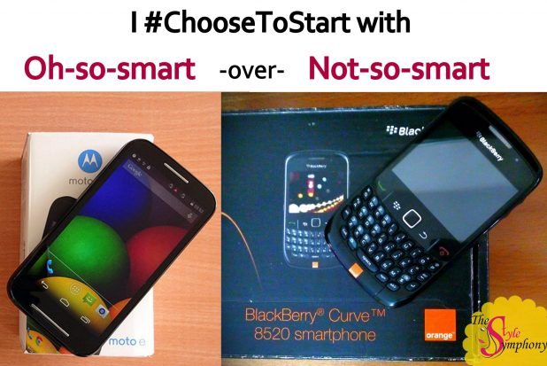 choose to start with Moto e