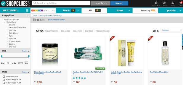 health products online