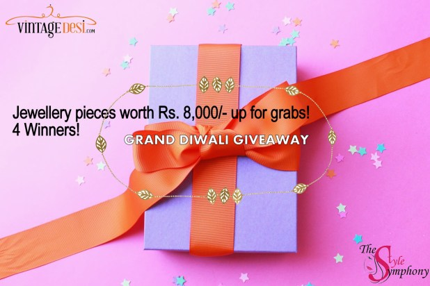 Vintage Desi The Style Symphony Diwali Giveaway
