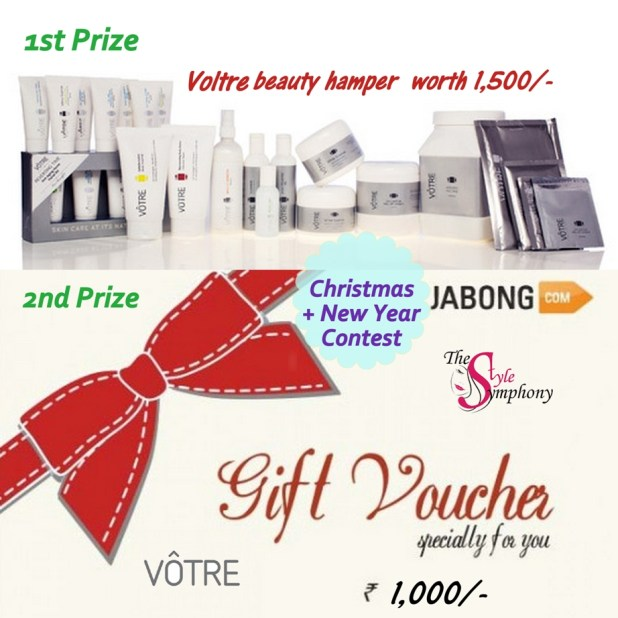 Jabong Christmas contest with Voltre