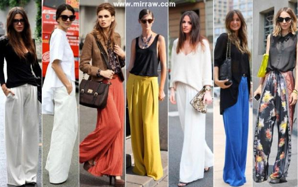 Modern Ways to Wear Palazzo Pants with Other Outfits