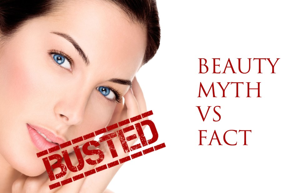 beauty myths busted