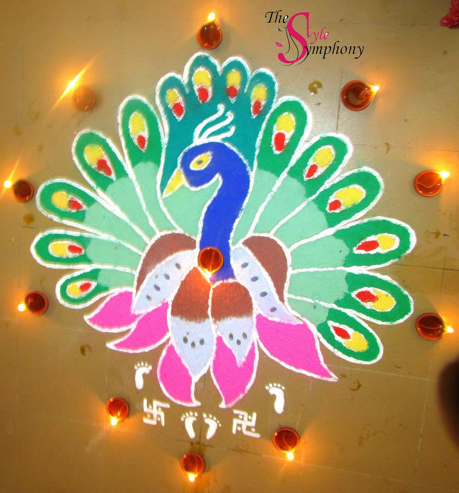 Types of Rangoli Designs through the eyes of The Style Symphony!