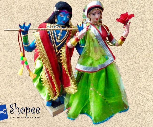 rajasthani dolls jaipur 9to9 shopee handmade unbreakable