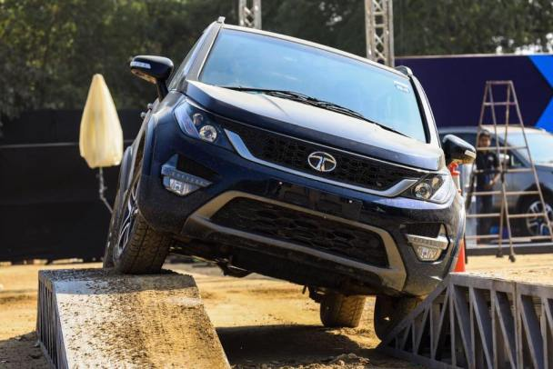 Tata Hexa Experience Center off road experience