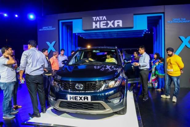 Tata Hexa Experience Center