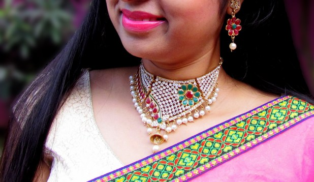 jadau necklace sets 9to9 shopee