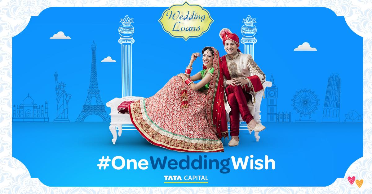 Tata Capital wedding loan #OneWeddingWish