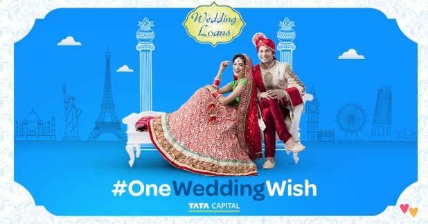Tata Capital wedding loan #OneWeddingWish dream wedding