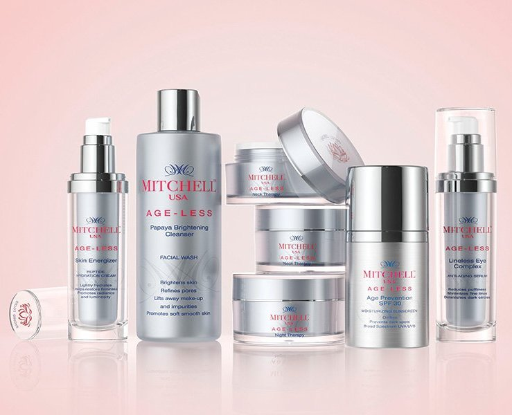 Mitchell U.S.A. skincare products range