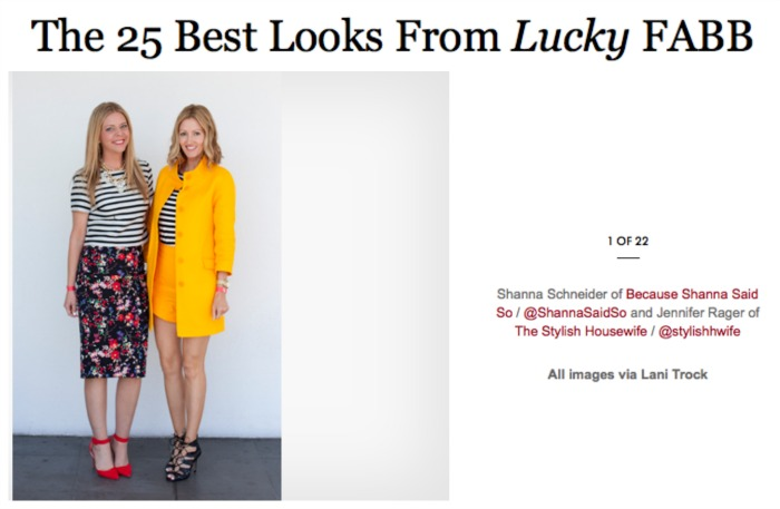 25 Best Looks from LuckyFABB