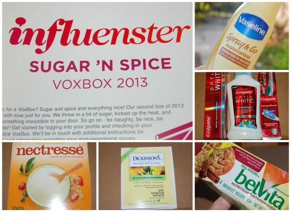 influenster sugar and spice voxbox