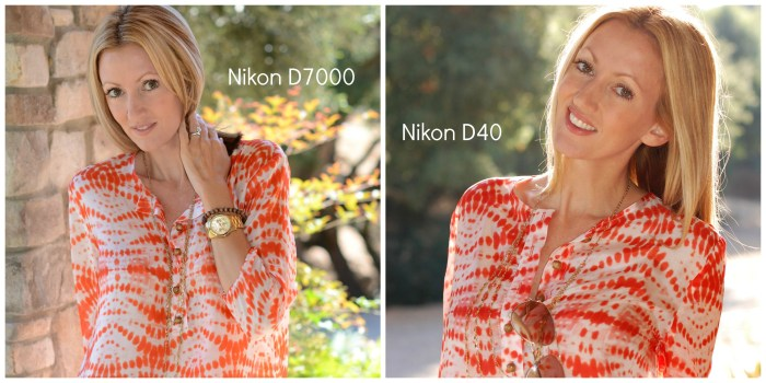 Nikon D7000 vs Nikon D40