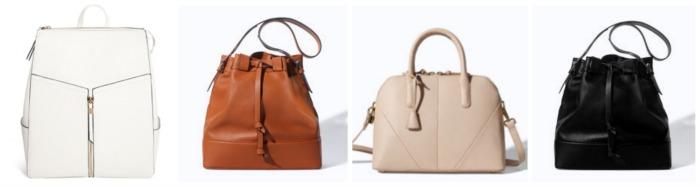 structured & bucket handbags